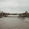 ferry on the seine river, Paris