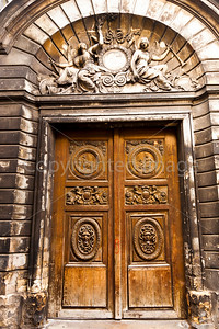 Doorway in the Marais