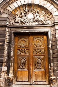 Doorway in the Marais