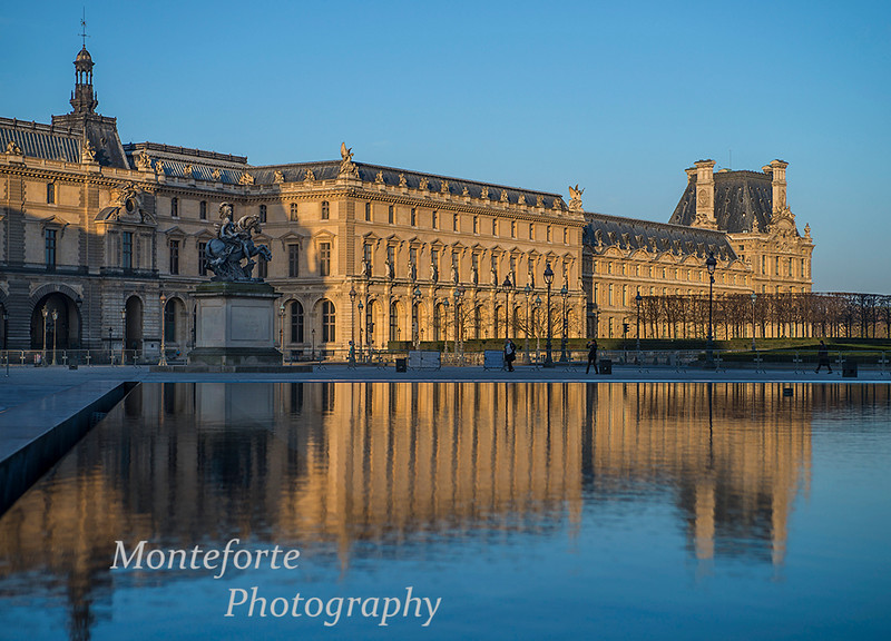 The Louvre, Paris France.