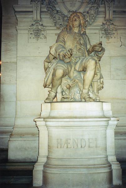 Composer Haendel at l'Opera Garnier