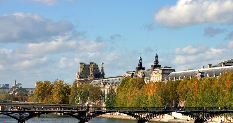 The Louvre, Across the Seine