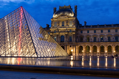 Blue Hour at the Louvre 2