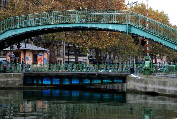 Canal St Martin - Paris
