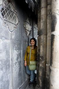 Deepu at the Notre Dame