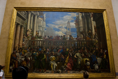 The marriage at Cana by Veronese