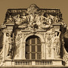 detail of Palais du Louvre