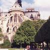 Notre Dame fountain.