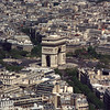 Arc de Triomphe from Tour Eiffel
