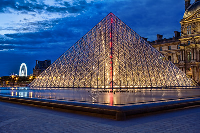 Blue Hour at the Louvre 3