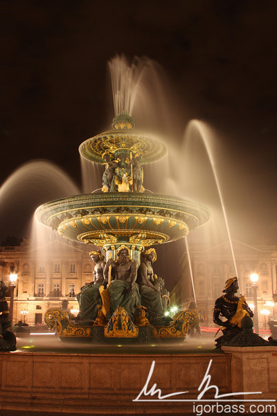 Place de la Concorde Fountain (Paris, FR)