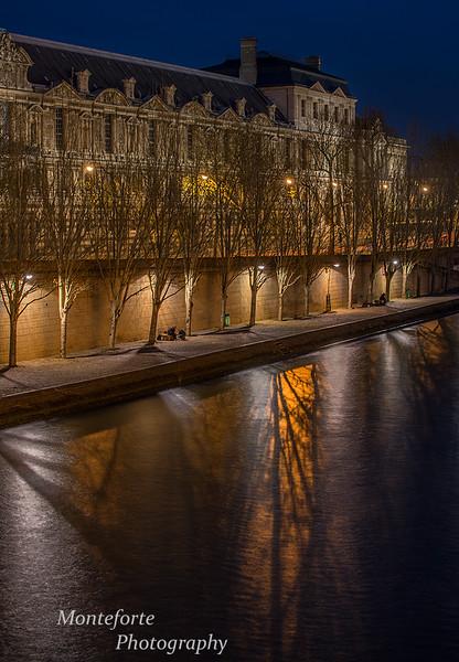 The Louvre, Paris France.