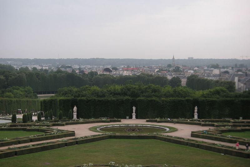 Versailles - view from the rear.