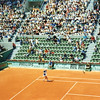 French Open '97: Jim Courier, Court Suzanne Lenglen