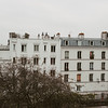 apartment buildings in Montmartre