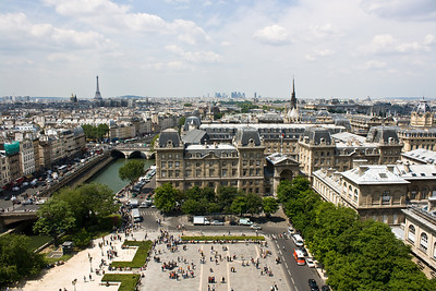 View of Paris from the Notre Dame