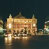 The Opera Garnier being restored