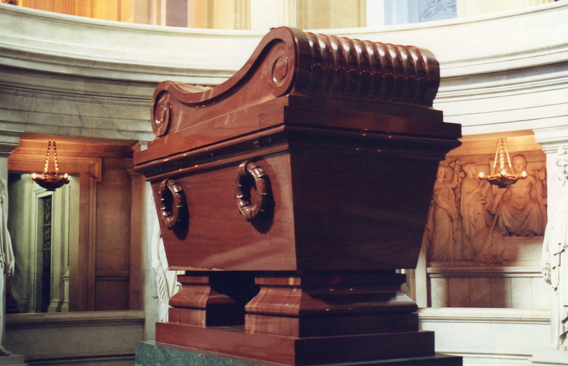 Napoleon's tomb at Les Invalide
