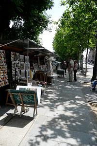 Book stalls on Quai Voltaire