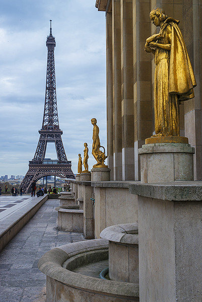 View from the Trocadero