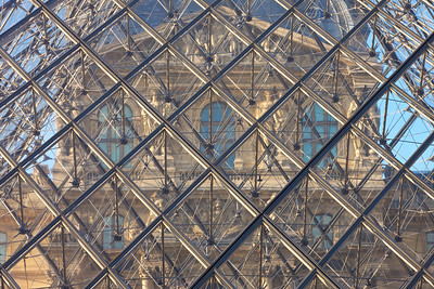 Shoot Through Glass at the Louvre
