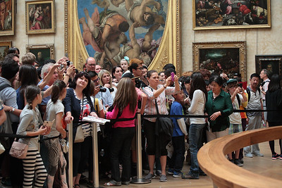 The Mona Lisa fan gallery