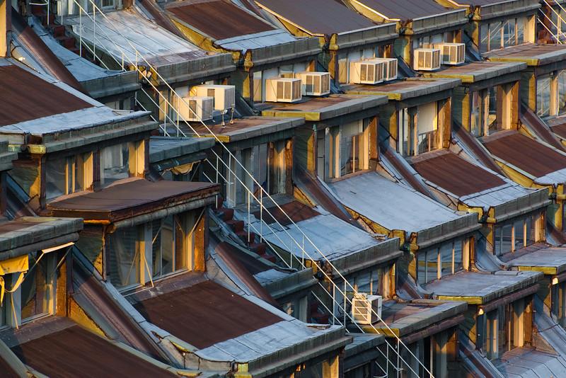 Rooftops of Rue de Provence