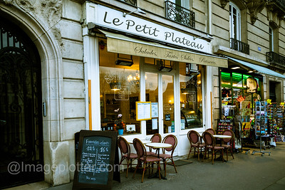 Cafe, Paris
