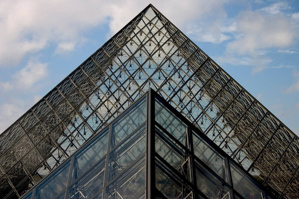 Pyramid, The Louvre
