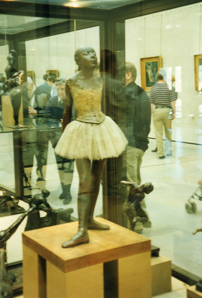 "Degas ""Little Ballerina"" at the Musee d'Orsay"