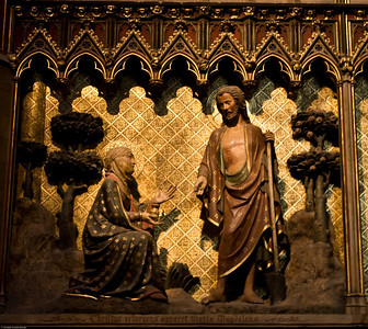Jesus and Mary Madgalene at the Notre Dame