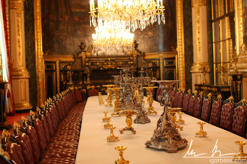 Napoleon table setting, Louvre (Paris, FR)