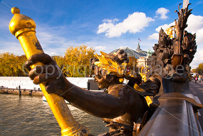 Nymph on the Pont Alexandre III