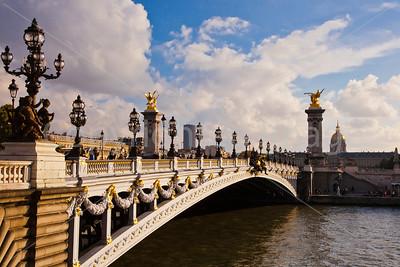Pont Alexandre III over the Seine