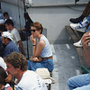 French Open '95: Court A.  I needed a ticket, she had an extra one. I like Paris!