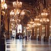 Opera Garnier main hall upstairs