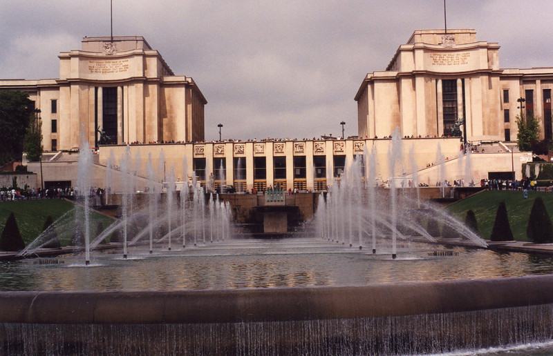 Fountain at Palais Chaillot