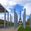 Peace memorial Paris France. The word peace written in every language on earth.