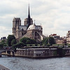 Notre Dame, Ile de la Cite: from Left Bank