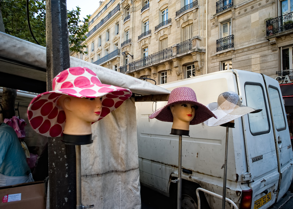 In Paris, you can still find heads on a pike, if only for the crime of bad fashion.