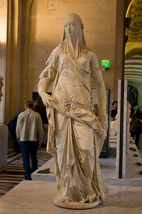 Corradini's veiled woman