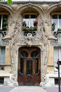 Art nouveau au n 29 avenue Rapp