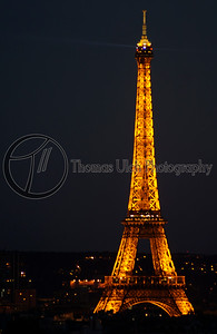 Some tower in Paris. Paris, France.
