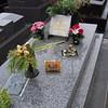 Jean Seaberg's grave at Cemetery Montparnasse