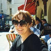 "Carla: cafe break at Place du Tertre, ""mo-mart"""