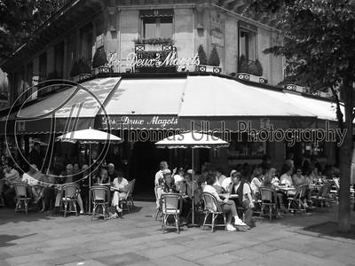 Les Deux Magots. Paris, France.