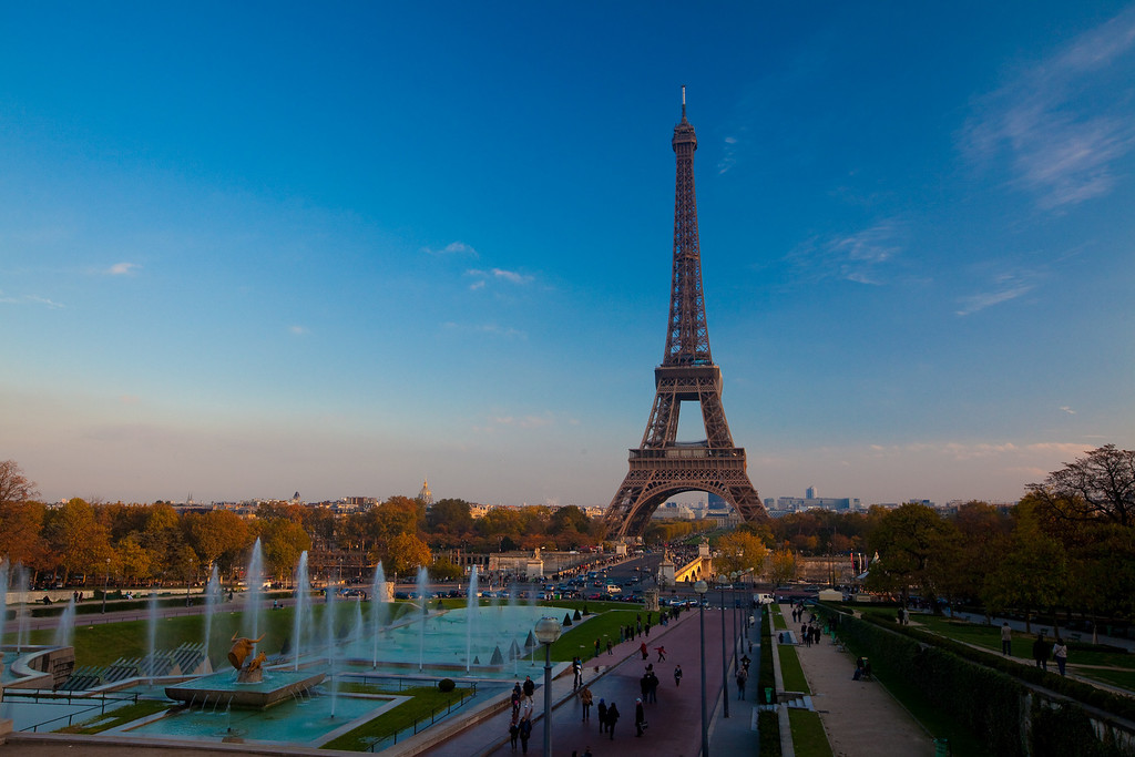 The Eiffel Tower at Golden Hour
