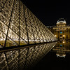 Louvre at Night (One)