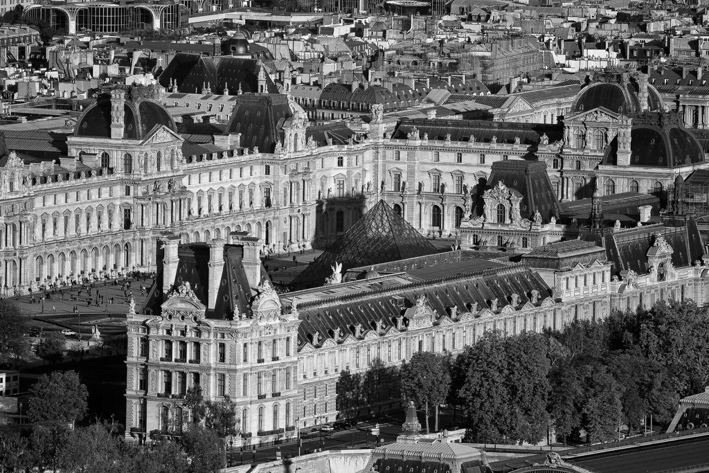 Louvre<br /> From the Eiffel Tower