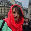 Woman near Hotel de Ville